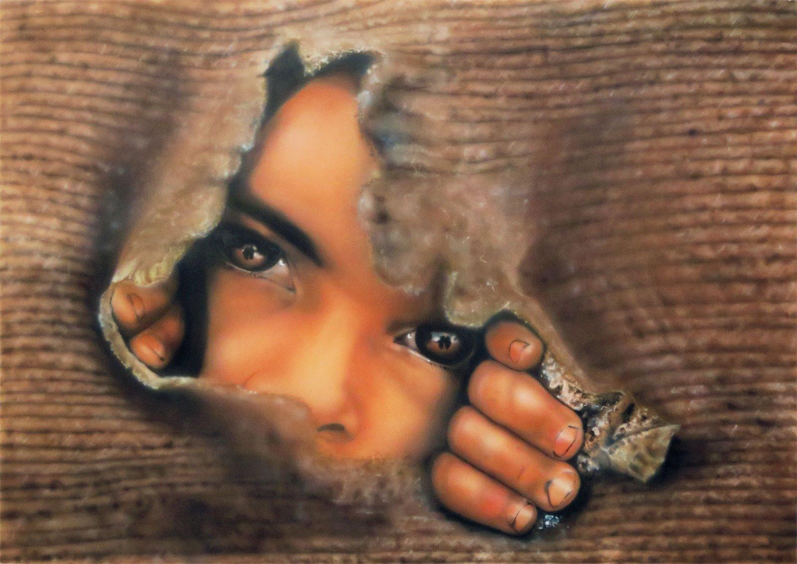 Hope airbrush painting